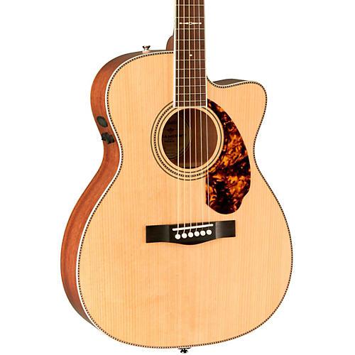 Fender Paramount Series Limited Edition PM-3 Mahogany Cutaway Triple-0 Acoustic-Electric Guitar-thumbnail