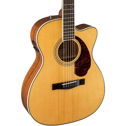 Fender Paramount Series PM-3 Cutaway Triple-0 Acoustic-Electric Guitar-thumbnail