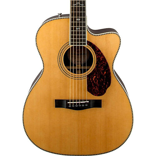 Fender Paramount Series PM-3 Deluxe Cutaway Triple-0 Acoustic-Electric Guitar-thumbnail