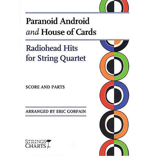 String Letter Publishing Paranoid Android and House of Cards String Letter Publishing by Radiohead Arranged by Eric Gorfain-thumbnail