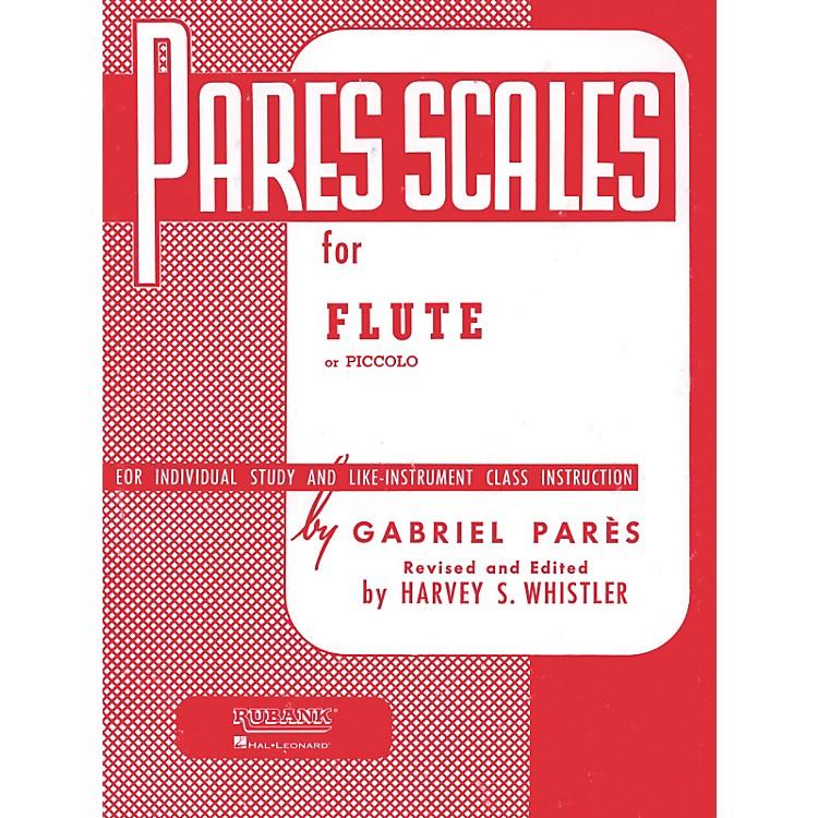 Hal LeonardPares Scales For Flute Or Piccolo