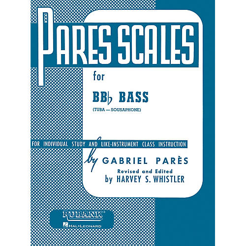 Hal Leonard Parès  Scales For Bb Flat Bass