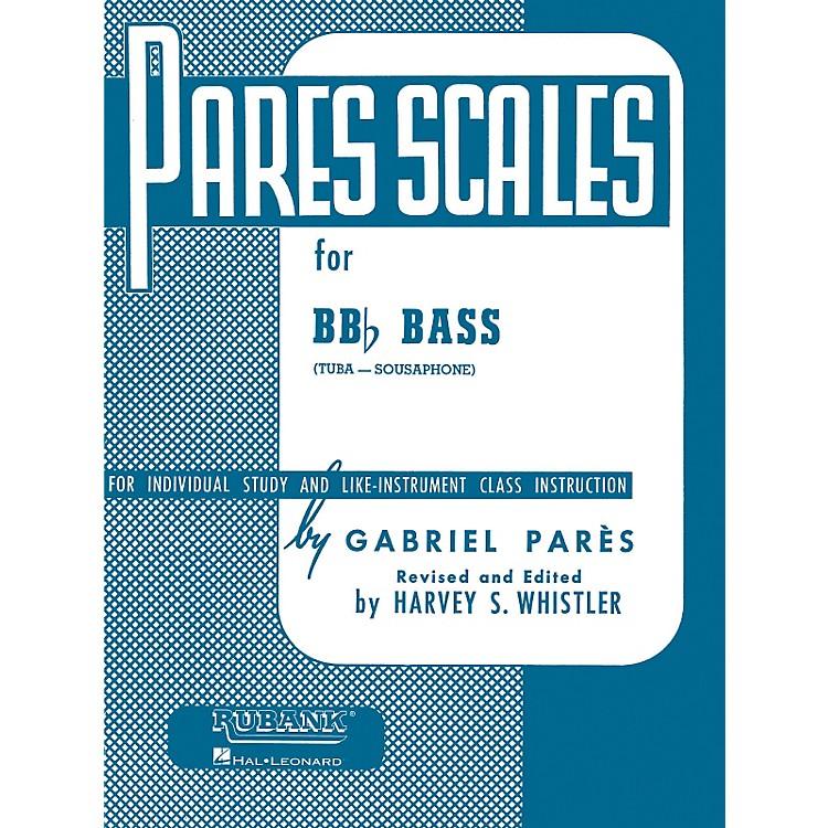 Hal LeonardParès  Scales For Bb Flat Bass