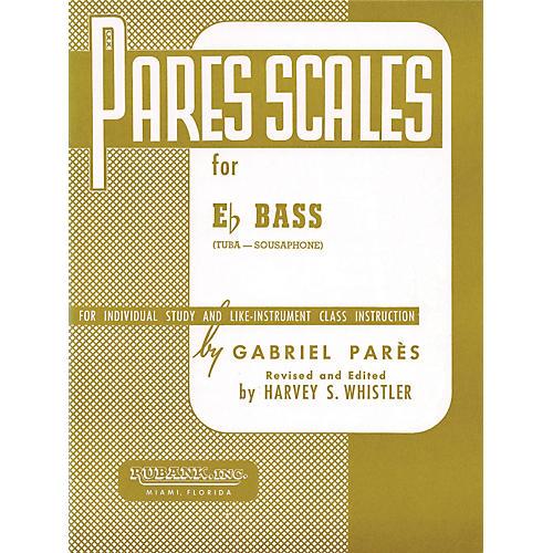 Hal Leonard Parès Scales For E Flat Bass