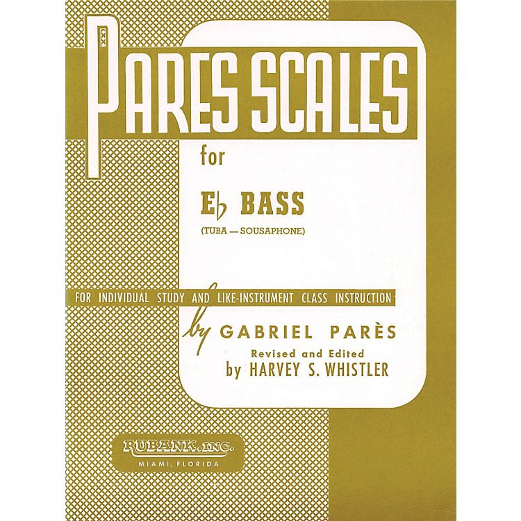 Hal LeonardParès Scales For E Flat Bass