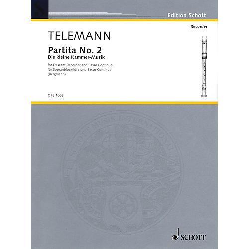 Schott Partita No. 2 in G Major (Der Kleine Cammer-Musik) Schott Series-thumbnail