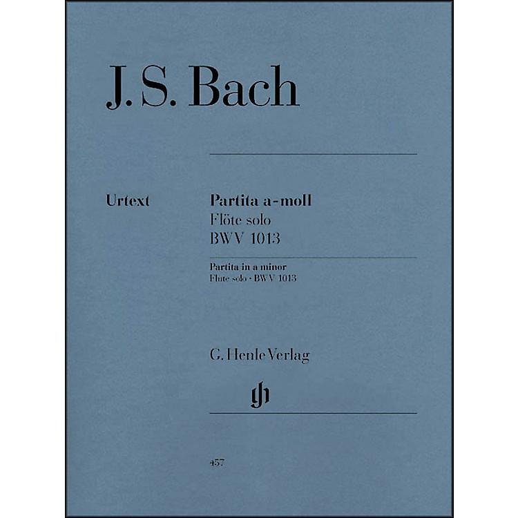 G. Henle VerlagPartita for Flute Solo In A Minor, BWV 1013 By Bach