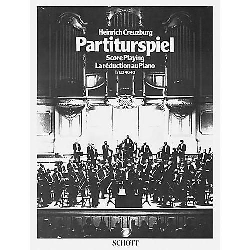 Schott Partiturspiel Old Clefs (Score Playing) (Volume 1) Schott Series-thumbnail