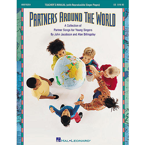 Hal Leonard Partners Around the World (Collection) (Song Collection) TEACHER ED Composed by John Jacobson-thumbnail