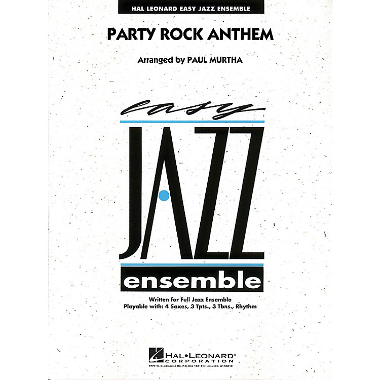 Hal Leonard Party Rock Anthem - Easy Jazz Ensemble Series Level 2