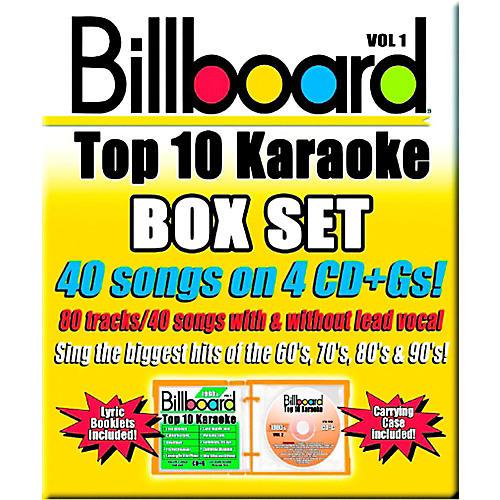Sybersound Party Tyme Karaoke - Billboard Box Set 1