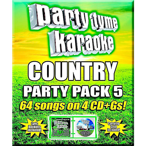 SYBERSOUND Party Tyme Karaoke - Country Party Pack 5-thumbnail