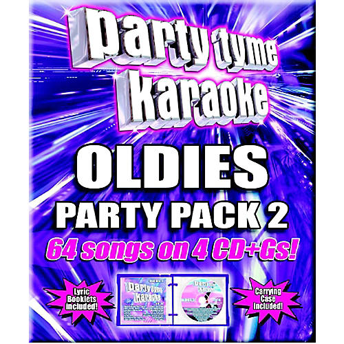 SYBERSOUND Party Tyme Karaoke - Oldies Party Pack 2-thumbnail