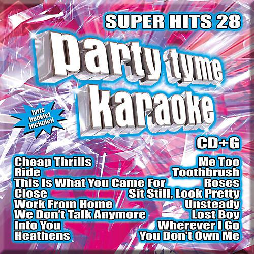 Sybersound Party Tyme Karaoke - Super Hits 28