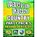 SYBERSOUND Party Tyme Karaoke -Country Party Pack 5 [4 CD+G PK]