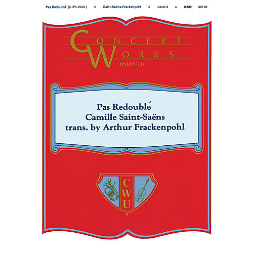Hal Leonard Pas Redoublé Concert Band Level 4 Arranged by Arthur Frackenpohl-thumbnail