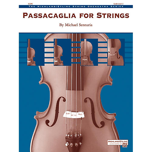 Alfred Passacaglia for Strings String Orchestra Grade 3 Set