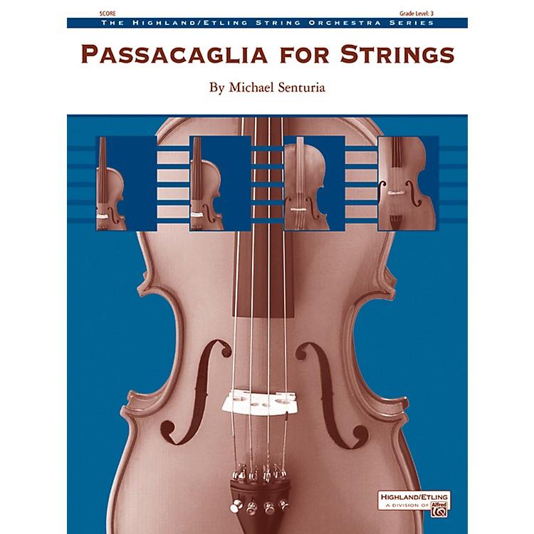 AlfredPassacaglia for Strings String Orchestra Grade 3 Set