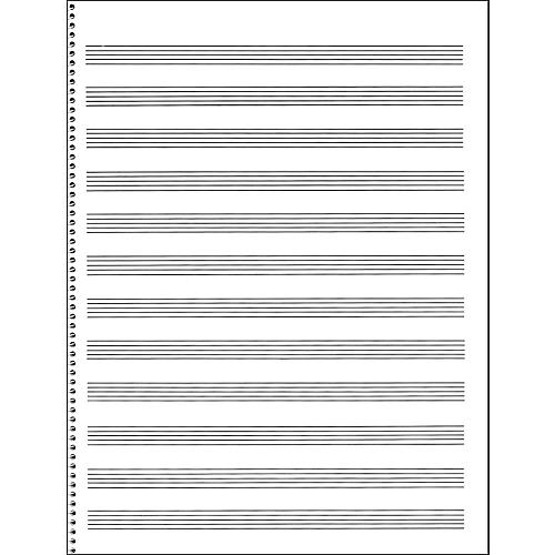 45 Best Sheet Music And Tabs Of Epicness Images On: Music Sales Passantino Manuscript Paper #65 12 Stave, 32
