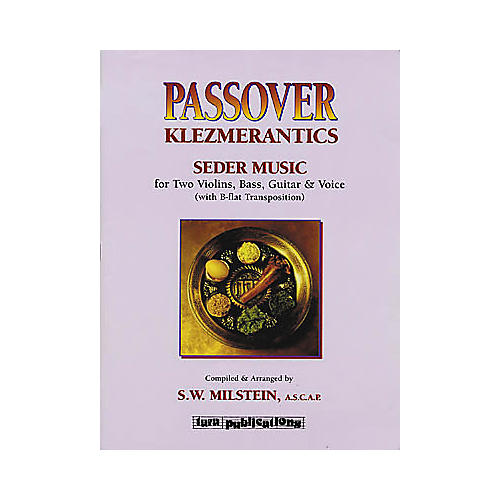 Tara Publications Passover Klezmerantics Book