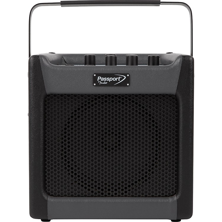 FenderPassport Mini 7W 1x8 Battery Powered Acoustic Guitar Combo with EffectsBlack