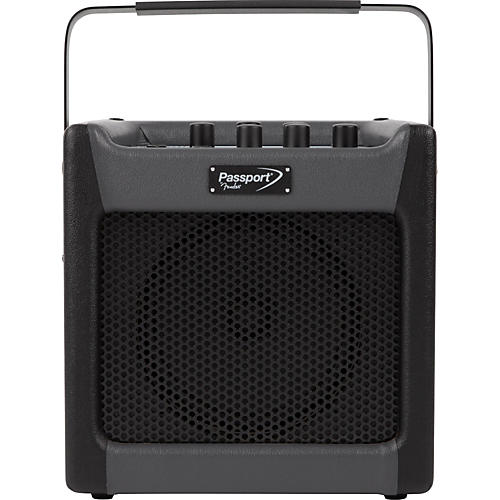 open box fender passport mini 7w 1x8 battery powered acoustic guitar combo with effects black. Black Bedroom Furniture Sets. Home Design Ideas