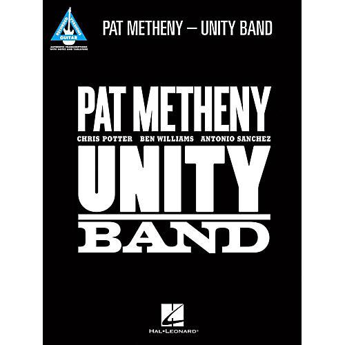 Hal Leonard Pat Metheny - Unity Band Guitar Tab Songbook-thumbnail