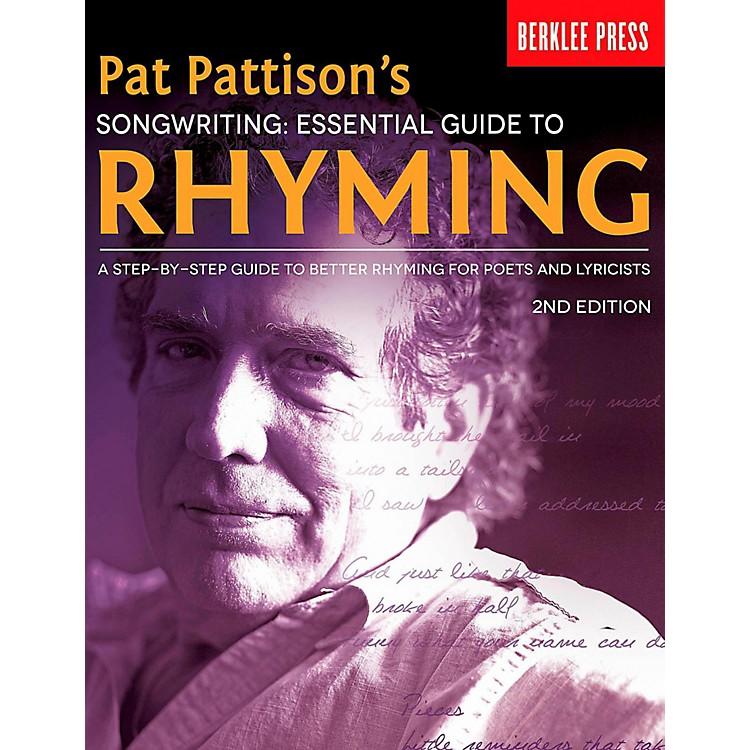 Berklee PressPat Pattison's Songwriting: Essential Guide to Rhyming