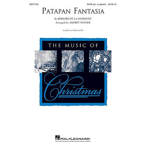 Hal Leonard Patapan Fantasia SATB arranged by Audrey Snyder-thumbnail