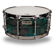 Pork Pie Patina Brass snare drum