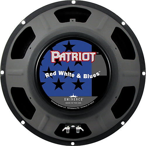 Eminence Patriot Red White and Blues 120W Guitar Speaker  12 Inches