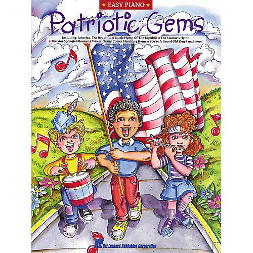 Hal Leonard Patriotic Gems For Easy Piano