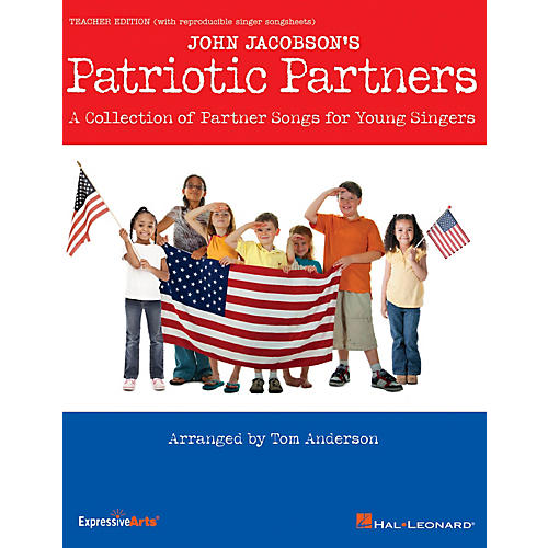 Hal Leonard Patriotic Partners (A Collection of Partner Songs for Young Singers) CLASSRM KIT Arranged by Tom Anderson