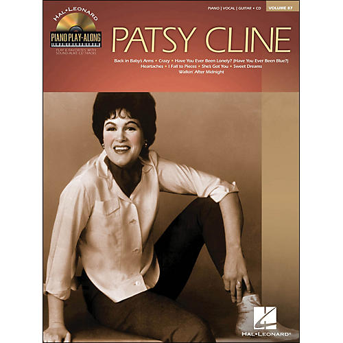 Hal Leonard Patsy Cline - Piano Play-Along Volume 87 (CD/Pkg) arranged for piano, vocal, and guitar (P/V/G)