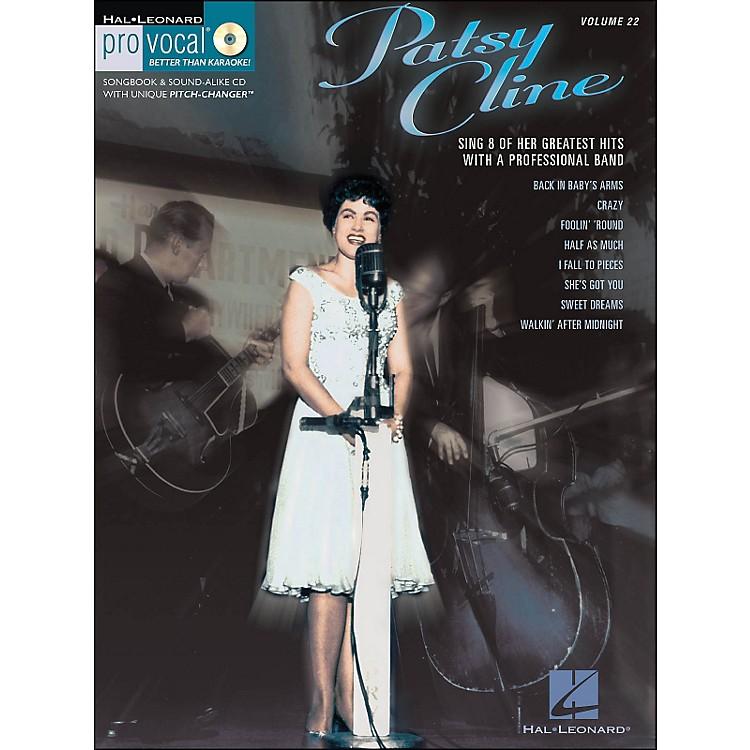 Hal LeonardPatsy Cline - Pro Vocal Songbook Women's Edition Volume 22 Book/CD