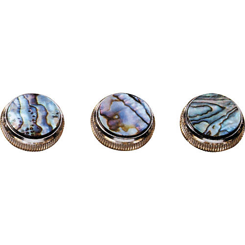 Bach Paua Abalone Trumpet Finger Buttons 3-Pack-thumbnail