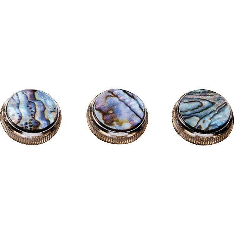 BachPaua Abalone Trumpet Finger Buttons 3-Pack