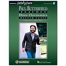 Hal Leonard Paul Butterfield Teaches Blues Harmonica Master Class Book/CD