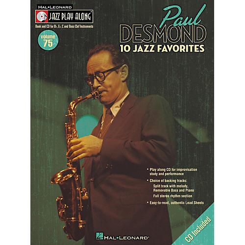 Hal Leonard Paul Desmond Jazz Play-Along Series (Book/CD)