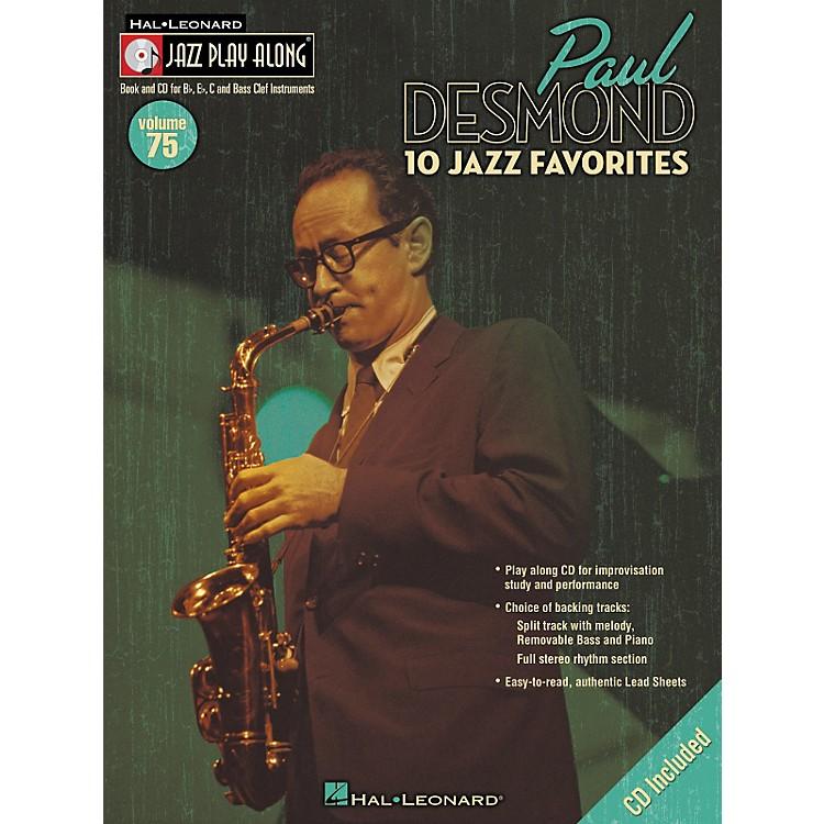 Hal LeonardPaul Desmond Jazz Play-Along Series (Book/CD)