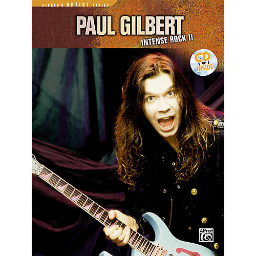Alfred Paul Gilbert - Intense Rock II Book with CD