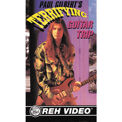 Alfred Paul Gilbert Terrifying Guitar Trip Video