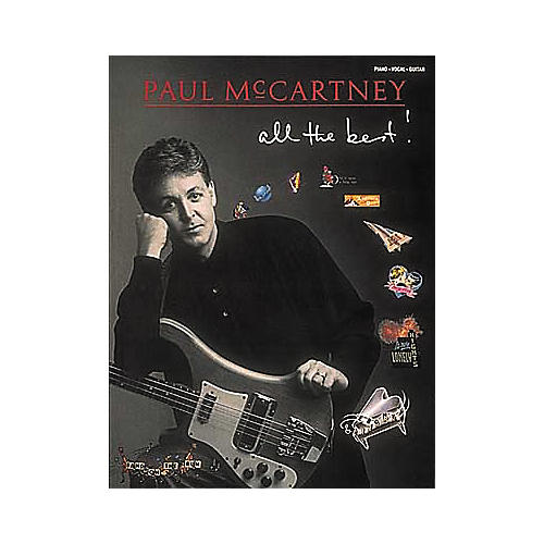 Hal Leonard Paul McCartney - All The Best Piano/Vocal/Guitar Artist Songbook