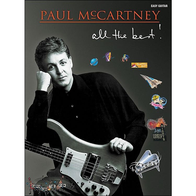Hal LeonardPaul Mccartney - All The Best for Easy Guitar Tab