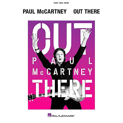 Hal Leonard Paul Mccartney - Out There Tour Piano/Vocal/Guitar Songbook