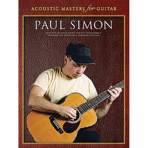 Music Sales Paul Simon - Acoustic Masters for Guitar (Guitar Tab) Music Sales America Series Softcover by Paul Simon-thumbnail