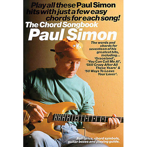 Music Sales Paul Simon - The Chord Songbook Music Sales America Series Softcover Performed by Paul Simon-thumbnail