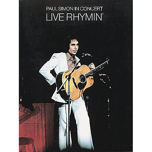 Music Sales Paul Simon in Concert - Live Rhymin' Music Sales America Series Softcover Performed by Paul Simon-thumbnail