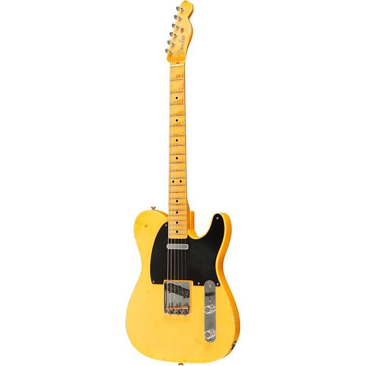 Fender Custom ShopPaul Weller Masterbuilt 1951 Nocaster Light Relic Electric GuitarAged Blonde