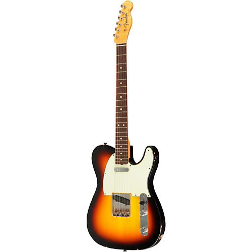Fender Custom Shop Paul Weller Masterbuilt 1963 Telecaster Light Relic Electric Guitar 3 Tone Sunburst